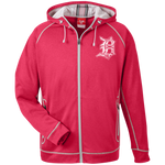 Detroit D Zip-Up Performance Hoodie - Forbes Design