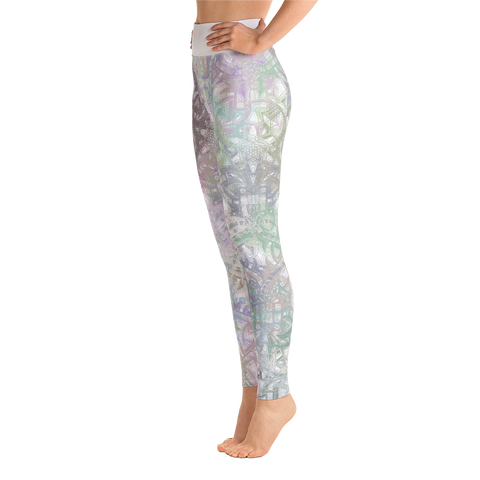 Kaleidoscope Yoga Leggings - Forbes Design
