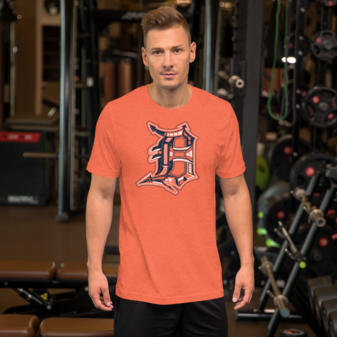 Detroit D Game Day T-Shirt (Unisex) - Forbes Design