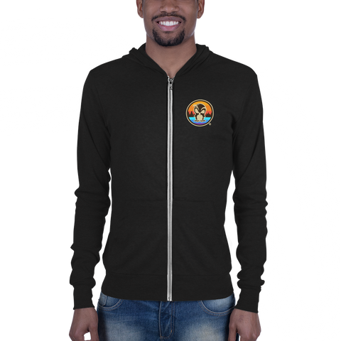 Northern Michigan Lightweight Zip Hoodie - Forbes Design