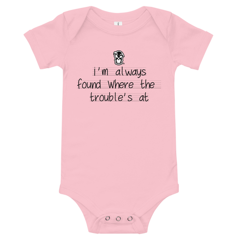 Trouble Onsie - Forbes Design