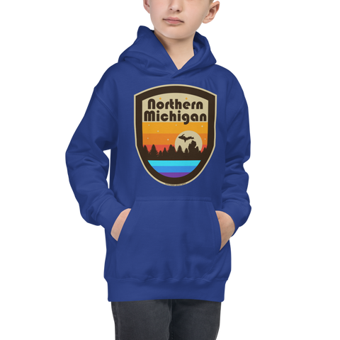 Northern Michigan Kids Hoodie -  - [Forbes_Design]