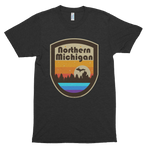 Northern Michigan Unisex Tri-Blend T-Shirt (Unisex) - Forbes Design