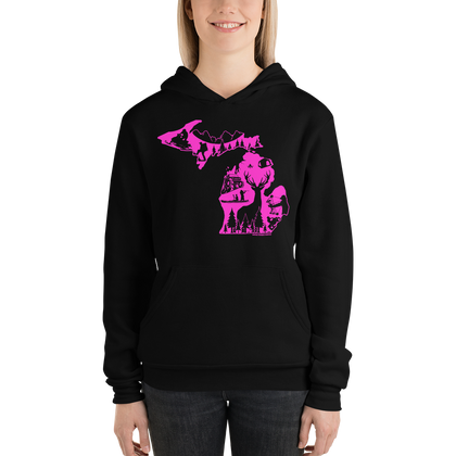 OUTDOORS HOODIE PINK EDITION - Forbes Design