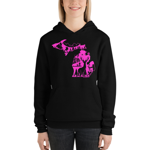 Outdoors Hoodie (Pink Edition) - Sweatshirts - [Forbes_Design]