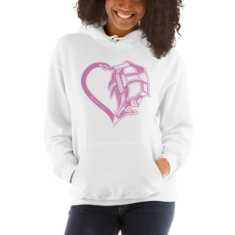 Heart of Detroit Hoodie - Sweatshirts - [Forbes_Design]