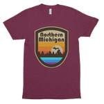 Northern Michigan Unisex Tri-Blend T-Shirt (Unisex) - T-shirt - [Forbes_Design]