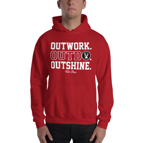 OUTSHINE HOODED SWEATSHIRT - Forbes Design