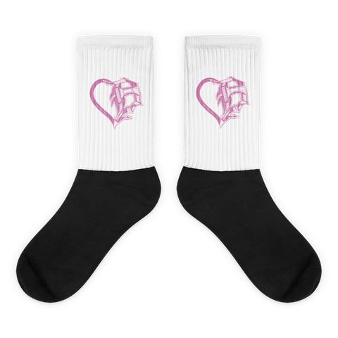 Heart Of Detroit Socks - Forbes Design