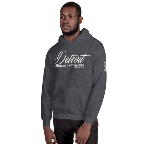 Broke But Not Broken Hoodie (UNISEX) - Forbes Design