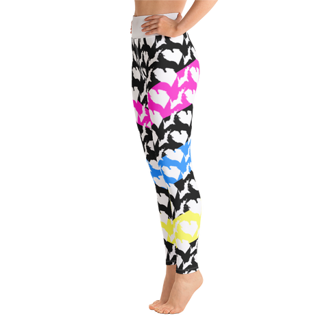 Ink Michigan Yoga Leggings - Forbes Design