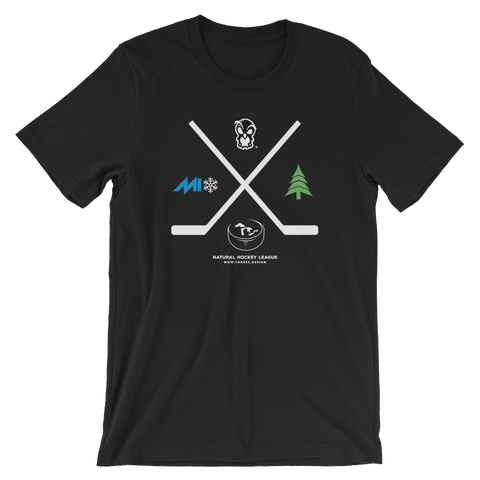 Pond Hockey T-Shirt (Unisex) - Forbes Design