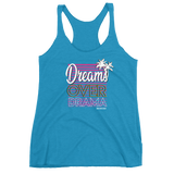 Dreams Over Drama Women's Racerback Tank - Tank - [Forbes_Design]
