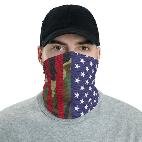 Camo Patriot Face Mask / Headband - Forbes Design