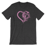 Heart of Detroit T-Shirt (Unisex) - Forbes Design