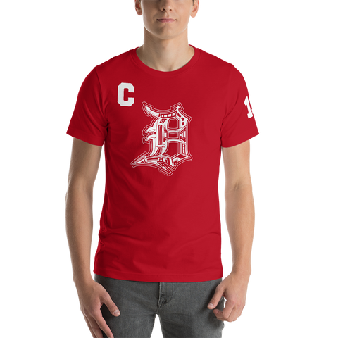Detroit Captain T-Shirt (Unisex) - Forbes Design