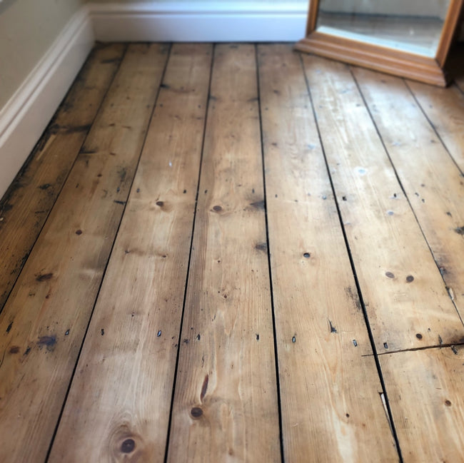 Reclaimed Beam Pine Floorboards