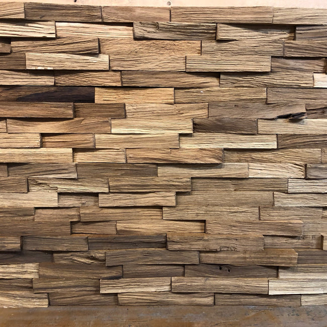 New Oak Wall Cladding