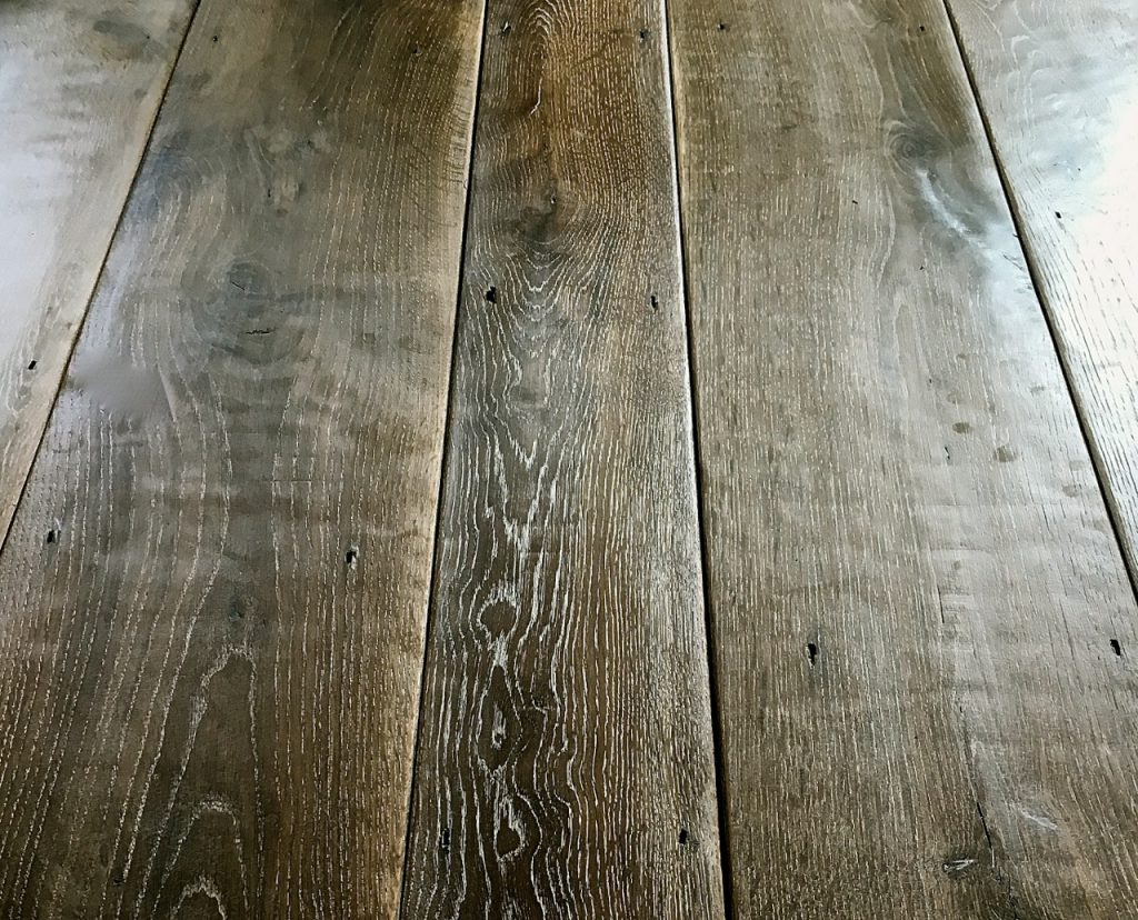 French Grey Oak Floorboards