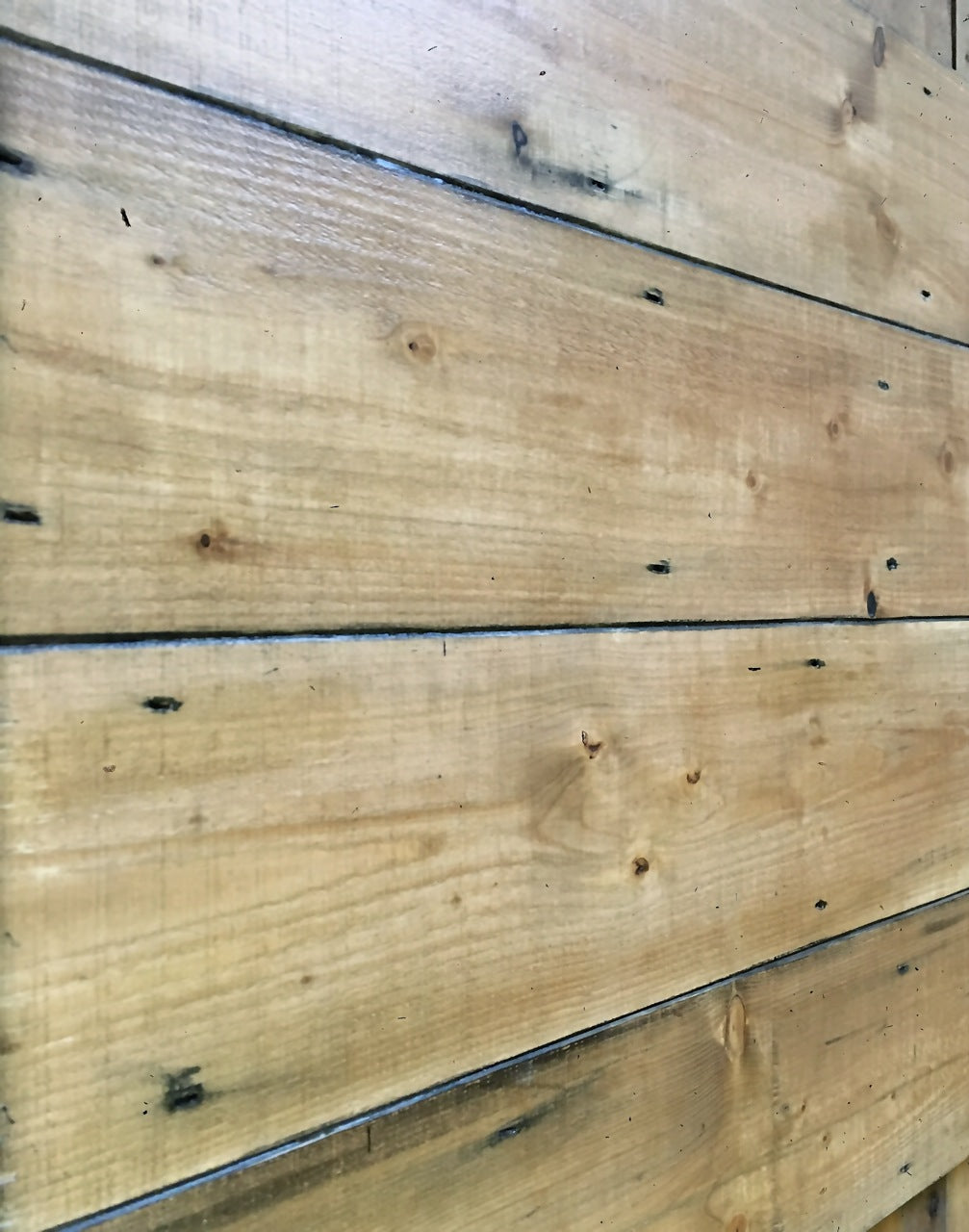 reclaimed pine wall cladding boards