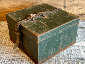 Vintage Metal Army Boxes