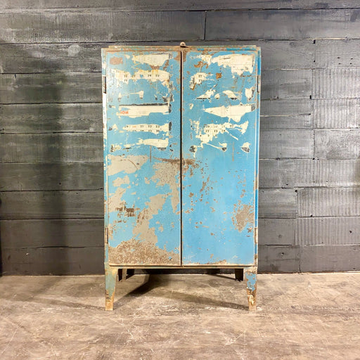 Vintage European Workshop Cabinet