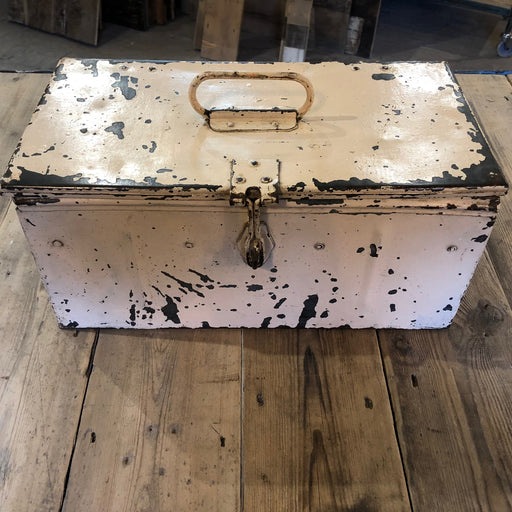 Old White Tool Box