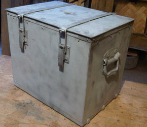Old Metal Army Box