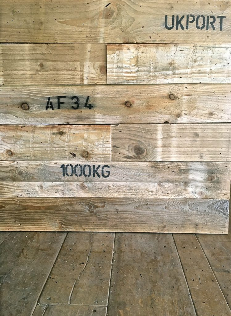Pallet Wood Cladding