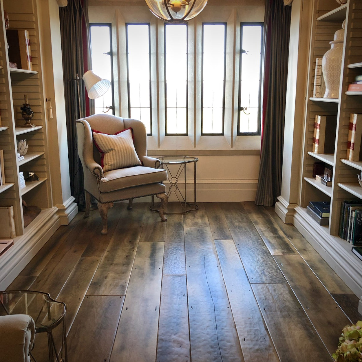 engineered reclaimed oak floorboards