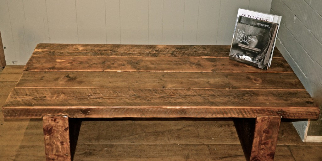 Reclaimed Beam Table