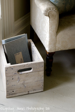Reclaimed Pine Storage Box