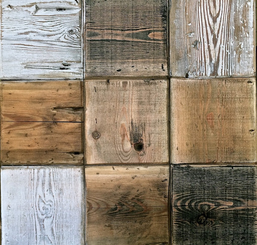Reclaimed Wooden Tiles