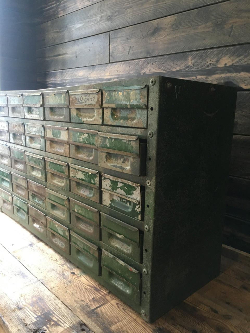 Vintage Engineers Cabinets