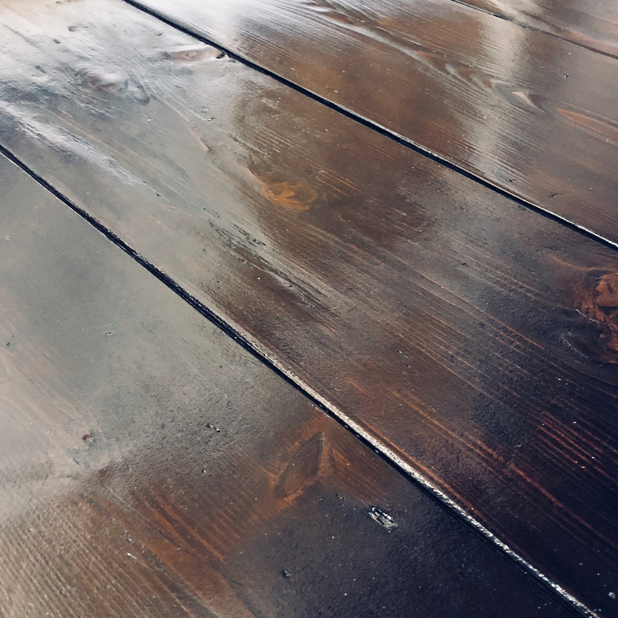 Reclaimed Dark Pine Floorboards Lawson S Yard