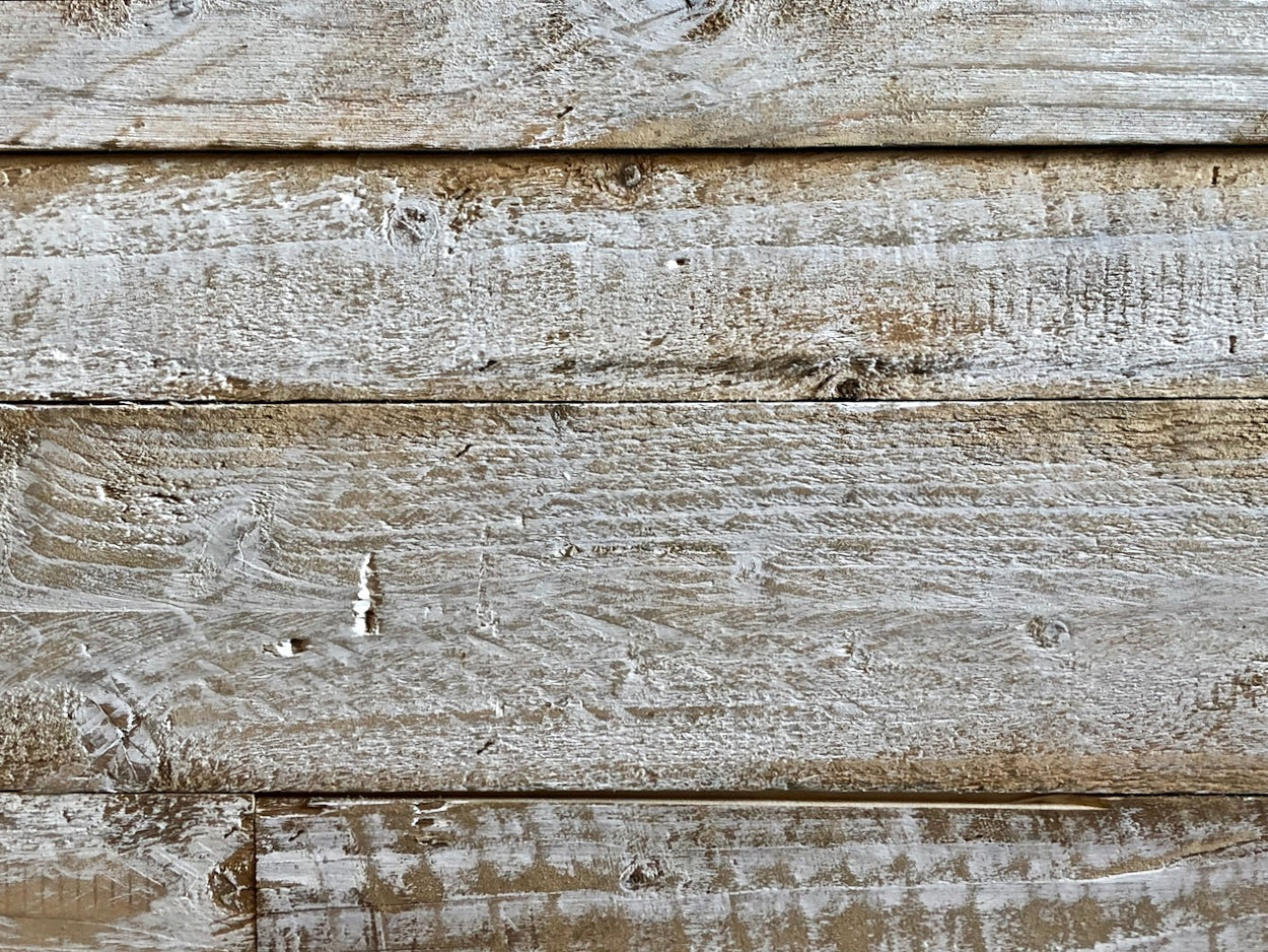 reclaimed wooden wall cladding