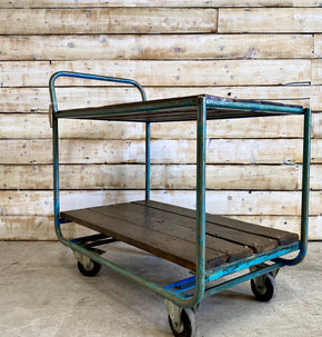 Vintage Dutch Factory Trolley