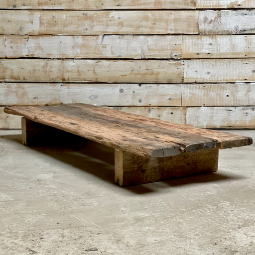 Reclaimed Boat Plank Coffee Table