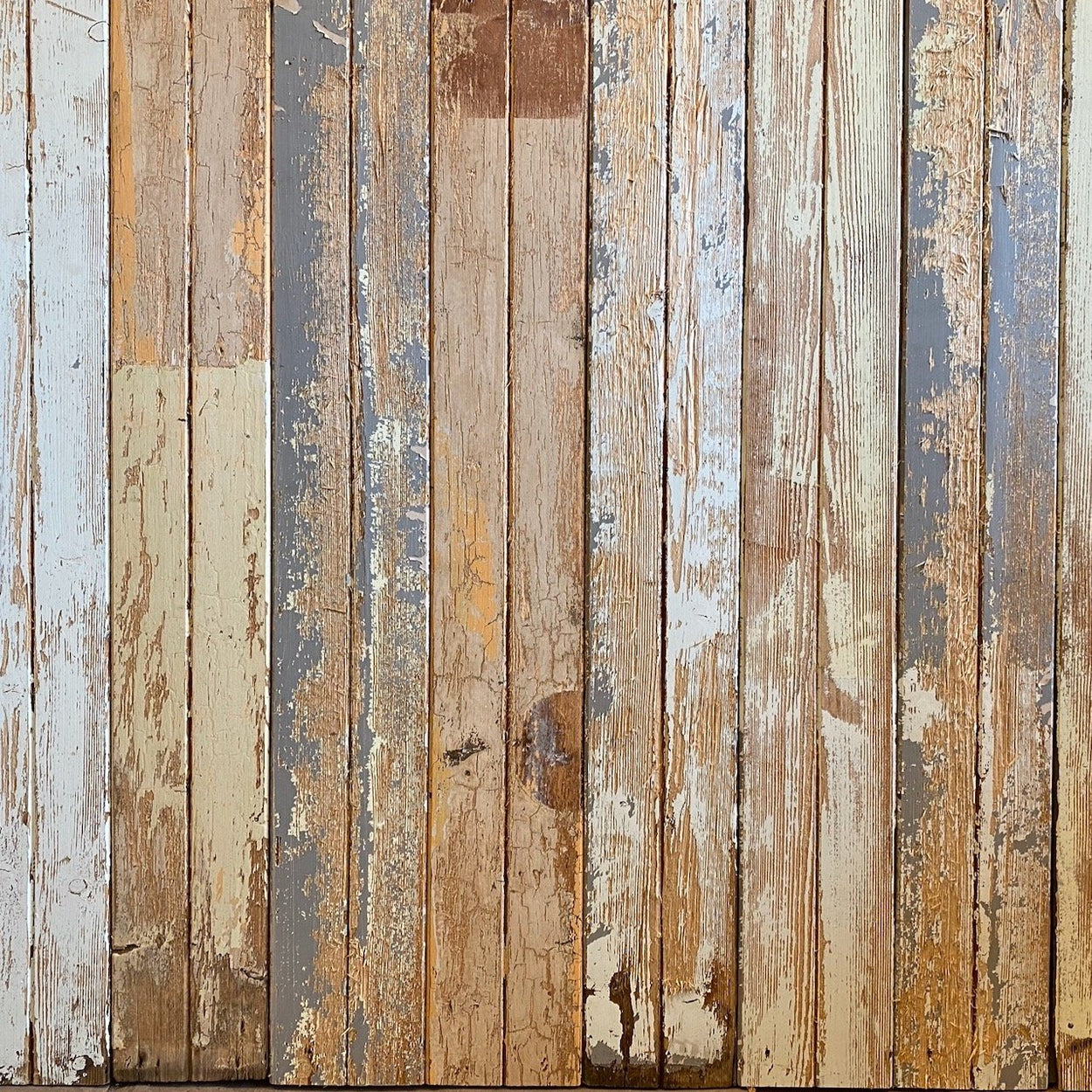Sample of Painted Reclaimed Wall Cladding