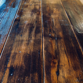 Reclaimed Engine Shed Dark Floorboards