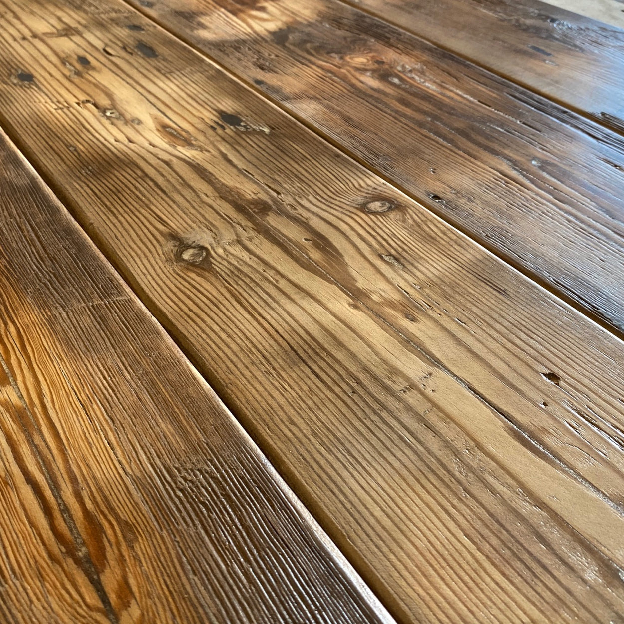 Reclaimed Engine Shed Floorboards
