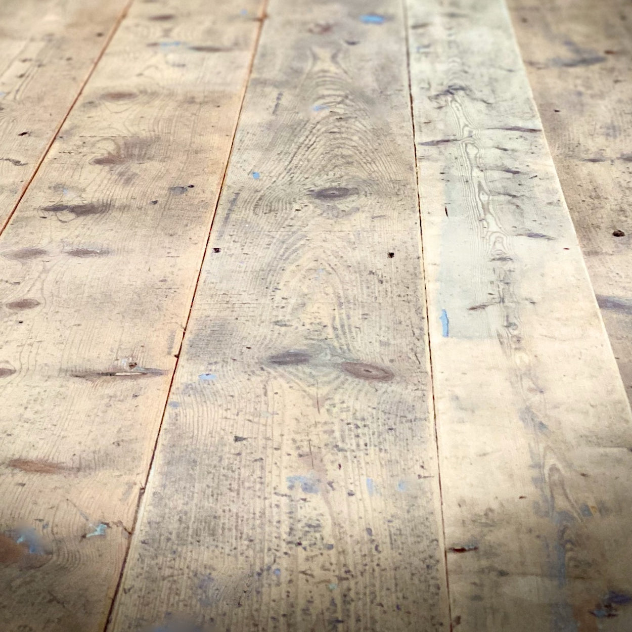 Fife Arms Reclaimed Victorian Pine Floorboards