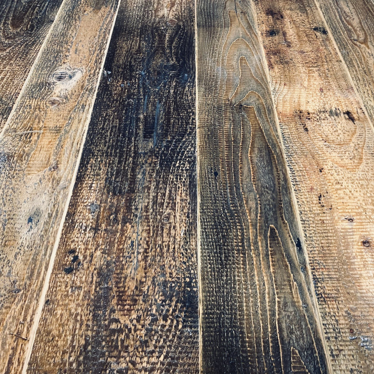 Sample of Industrial Floorboards