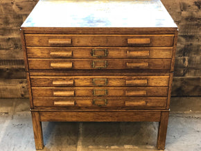 Oak Plan Chest