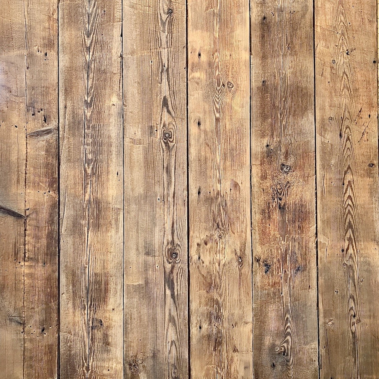 Sample of Reclaimed Engine Shed Cladding Boards
