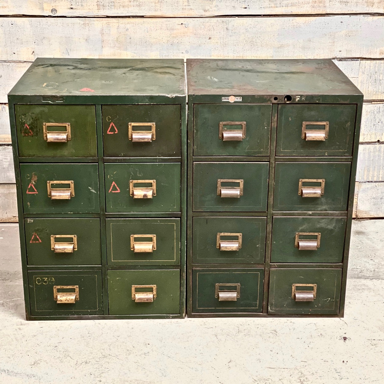 Roneo Vintage Steel Drawers