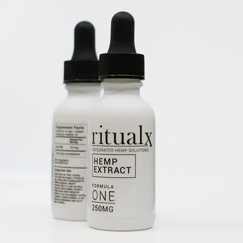 2-Pack of ritualX Formula ONE Hemp Extract
