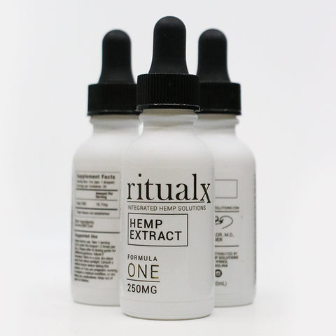 3-Pack of ritualx Formula ONE Hemp Extract