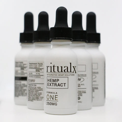 5-Pack of ritualx Formula ONE Hemp Extract