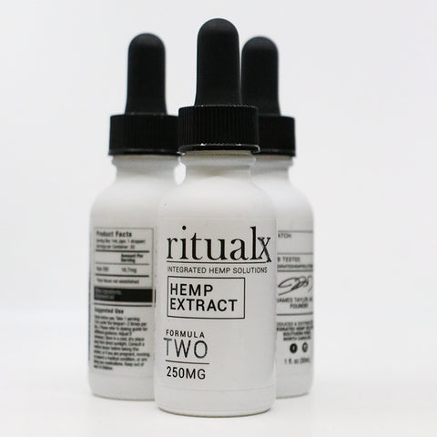 3-Pack of ritualx Formula TWO Hemp Extract